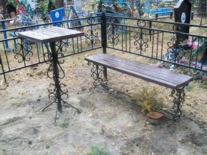 Изготовление и установка столика  лавочки на могулу Солигорск - Изображение #9, Объявление #1656646