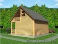 Баня-Дом из бруса Аксинья 6х7.5 Сруб установка Солигорский район - Изображение #3, Объявление #1618469