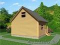 Баня-Дом из бруса Аксинья 6х7.5 Сруб установка Солигорский район - Изображение #5, Объявление #1618469
